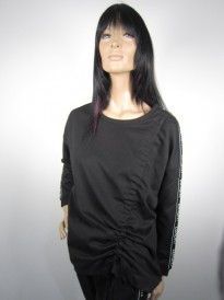 BLUZA NU DENMARK LUXURY STRIPE BLACK